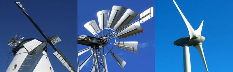 Eoliennes, moulin et aérogénérateur